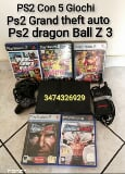 Foto Console PS2 Slim con 5 giochi Dragon Ball Z